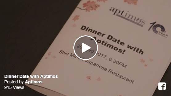 Dinner Date with Aptimos @Shin Minori