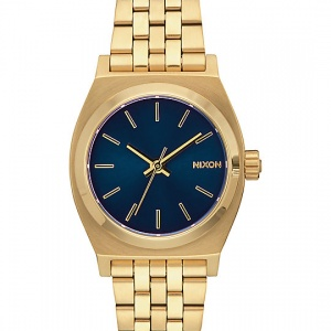 Nixon-Medium-Time-Teller-Light-Gold-&-Cobalt-Analog-Watch-_282895