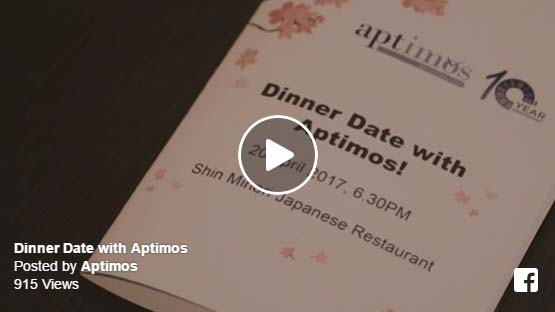 Dinner Date with Aptimos @Shin Minori